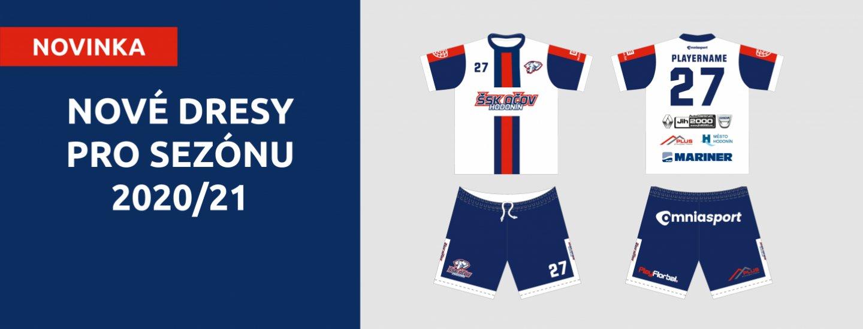 Nové dresy pro sezónu 2020/21